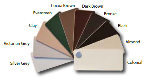 Window Exterior Colors