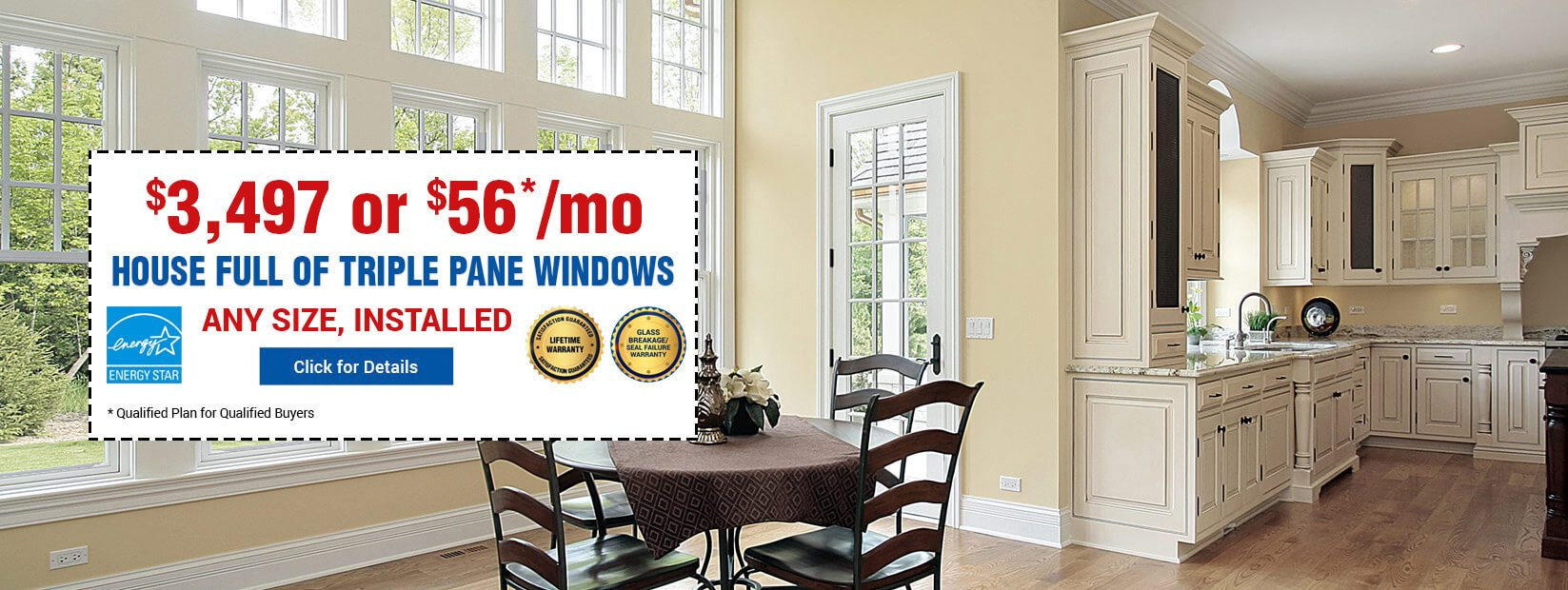 House Full Triple Pane Windows