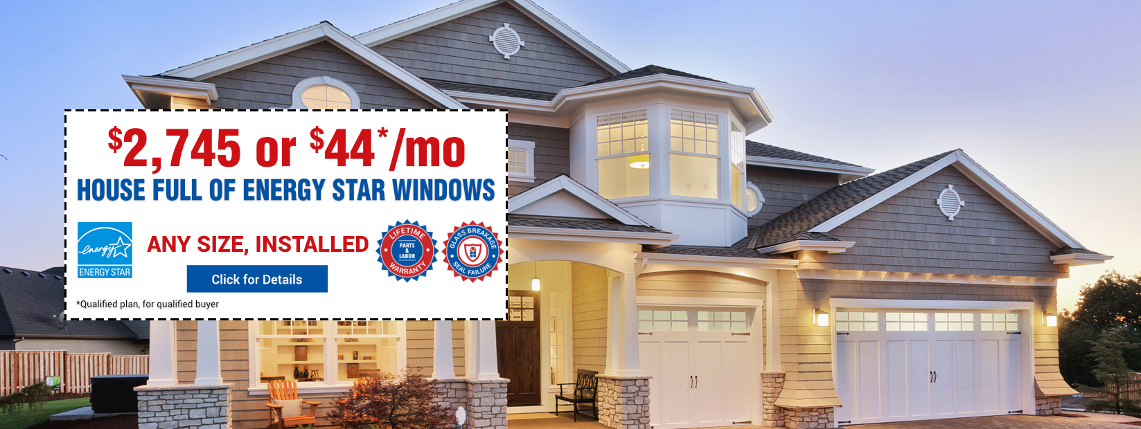 Energy Star Windows at $2754